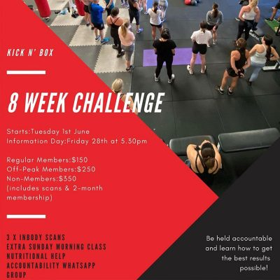 8 Week Challenges Adelaide